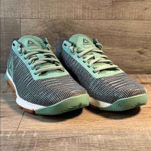Reebok Speed TR Flexweave Sneakers Green/Chalk/Gum